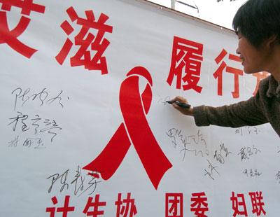 Aidsbannerchina